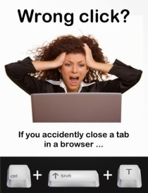 How To Re-open a Closed Tab...