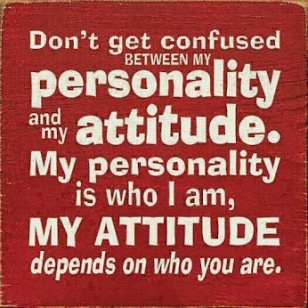 My Personality...
