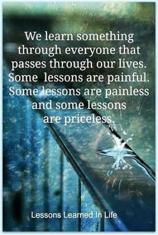 Priceless Life Lessons...