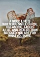 Smiles - A Recipe for a Good Life
