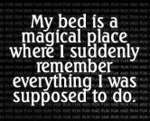The Magic of your Comfy Bed