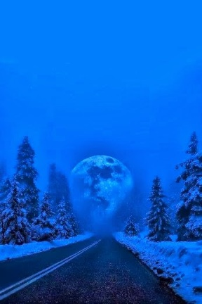 The Moon at the End of the Road