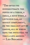 The Power of Caring....