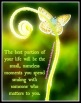 The Present Moment is a Powerful Goddess (Goethe)