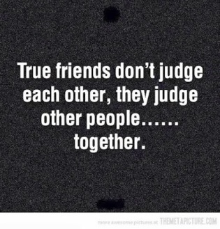What Friends Do....